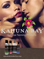 Kahuna Bay Tan Sunless Tanning Poster